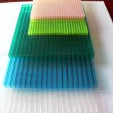 Wasser-Beweis-Anti-UVfarbiges Polycarbonat Multiwall Wand-Blatt