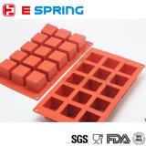 15 carrés de chocolat bricolage en silicone