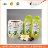 Escritura de la etiqueta adhesiva de encargo de la botella de la medicina de la etiqueta engomada de la impresión para el petróleo de pescados