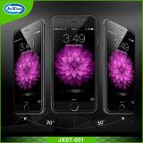 高品質9hのiPhone 6/6+のための耐衝撃性の移動式緩和されたガラススクリーンの保護装置と