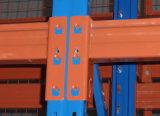 Vigas do caixotão dos componentes da cremalheira da pálete para o carregamento de pálete