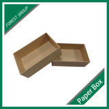 Diseño OEM reciclables Brown Kraft Caja de papel corrugado