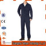 Coton de circuit de noir d'usine/combinaison personnalisés de travail sergé de polyester