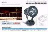 Nuovo tipo moderno riflettore impermeabile 3X2w 6W del LED