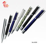 Penna promozionale del rullo degli elementi della penna del rullo di alta qualità su vendita
