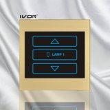 아크릴 개략 프레임 (SK-LT100-DH1)에 있는 1개의 갱 제광기 스위치 400W