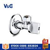 Vanne hydraulique de l'angle en laiton (VG-E11021)