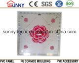 Plafonnier en plastique Panneau de plafond PVC plafonniers 595 * 595 * 7mm