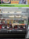 Ouvrez l'horizontale Vitrine d'affichage de la viande de réfrigération