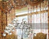 Preiswertes Kristallleuchter-Zeichenkette-Farbton-hängende Lampen-dekoratives hängendes Licht Om9156