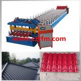 Rullo trapezoidale della lamiera di acciaio delle mattonelle di tetto che si forma facendo macchina