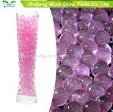 Il gel di cristallo dell'acqua del terreno di scintillio caldo di vendita borda la decorazione di cerimonia nuziale