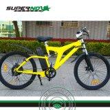Bicyclette électrique avec le moteur arrière sans frottoir