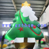 膨脹可能な屋外のクリスマスの装飾か昇進の膨脹可能なクリスマスツリー