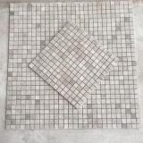 床または壁のための磨かれたArtic銀製灰色の大理石のモザイク・タイル