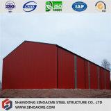 Entrepôt préfabriqué de construction de structure métallique à vendre