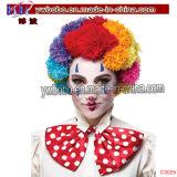 Подарок промотирования дня рождения новизны радуги парика клоуна POM (C3025)