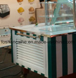 Carro de gelado italiano / Gelati Carts / Gelato Showcase Freezers