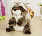 Lovely Small Racoon Plush Toys Dolls