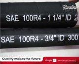 Boyau hydraulique d'aspiration et de débit de boyau de SAE R4
