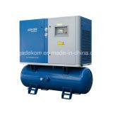 Mini compresseur d'air électrique monté par réservoir silencieux de vis (KB15-13D/500)