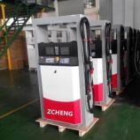 Erogatore personalizzabile del combustibile dell'ugello delle stazioni di servizio di Zcheng doppio con l'emergenza