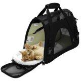 携帯用慰めの柔らかい味方されたDog&Catペット買物袋