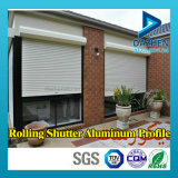 De alumínio da porta do rolo de rolamento porta do obturador Janela Extrusão de Alumínio Perfil