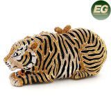 Rhinestone Animal soirée Conception sac sacs SHAPE TIGER Crystal partie Leb729