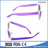 Promoción Clásico marco de plástico Interchangeable Temple Gafas de sol