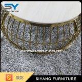 Mesa de centro redonda do aço inoxidável do fabricante de Foshan