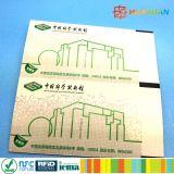 公共交通機関のための習慣ISO14443A MIFARE Ultralight EV1 RFIDの紙カード
