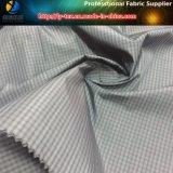 Tejido teñido de tela de poliéster guarnición de ropa de lujo (YD1186)