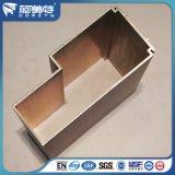 Perfil de alumínio extrudido anodizado para janela e porta