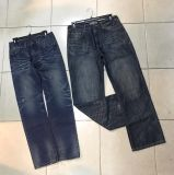 Популярные мужчин повседневный джинсы 11,5 унции