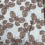 50d*75d impression numérique de torsion satin brillant pour l'habillage