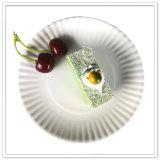 Placa de papel Eco-Friendly reusável da cor branca quente da venda