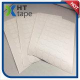 El doble del papel de algodón del diámetro de la dimensión de una variable redonda que cortaba con tintas 20m m echó a un lado cinta