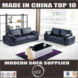 El sofá de cuero moderno más simple Lz370 determinado