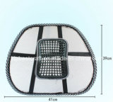 El enloquecer vendiendo el amortiguador lumbar del masaje de la silla del asiento de coche del soporte de la paréntesis posterior del acoplamiento
