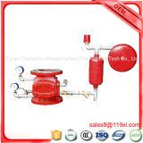 Влажный задерживающий клапан пожарной сигнализации