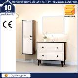 Governo fissato al muro di legno della mobilia della stanza da bagno della melammina bianca della lacca