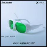 620-700nm Dir Lb5 Alto Nível de proteção de óculos de protecção Laser & Segurança Laser Óculos para os lasers vermelhos, Ruby (RHP-2 600-700nm) com a estrutura 52