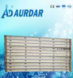 Panneaux 100 mm à paroi personnalisée en chambre froide; Surface en aluminium gaufré