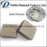 Камень Китая обрабатывая этап вырезывания металла алмазных резцов для гранита