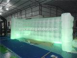 LED, die aufblasbare Wand-aufblasbare Beleuchtung-Wand für Messe beleuchtet