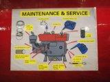 Único Cilindro Quanchai/Changchai 16kw grupo gerador diesel gerador eléctrico