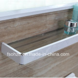 Eenvoudig maar de Moderne Ijdelheid van de Badkamers van het Roestvrij staal met Plank