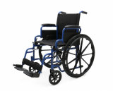 El manual de acero, Mueve de un tirón-Detrás los apoyabrazos, sillón de ruedas, economía (YJ-005)