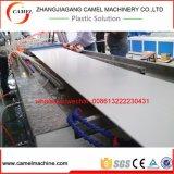 Linha de madeira decorativa da extrusão da produção do painel de teto do PVC da cor do painel de parede